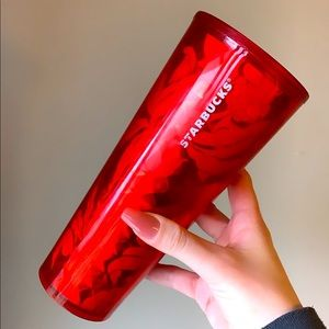 Starbucks Geometric Holiday Berry Tumbler